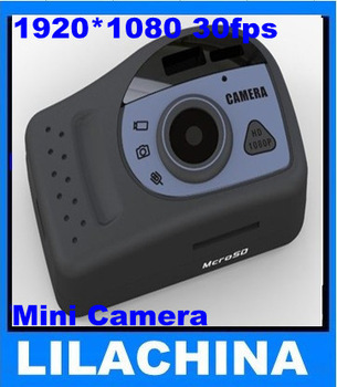 HD 1080P Mini Camera Hidden Mini Camcorders Micro DV DVR Free Shipping(China (Mainland))