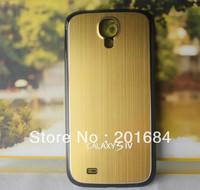 Aluminum Metal Housing back Battery Cover case f SAMSUNG Galaxy S4 S IV i9500  50pcs/lots