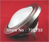 PC Cover AR111 G5.3 Fin - Type  6W 12W High Power LED Par Spot Light 6x1W 6x2W LED Bulb Lamp AC85-265V DC12V DC24V