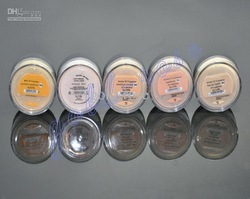 New MIX 120PCS id Minerals Foundation fairly light /Golden Medium/Medium/MINERAL VEIL/MEDIUM BEIGE(China (Mainland))