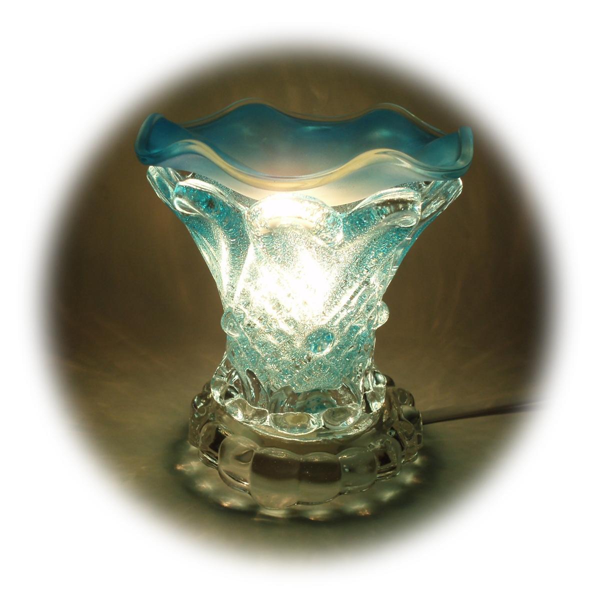 Free shipping Small crystal glass aromatherapy lamp oil lamp plug in oil aroma lamp aromatherapy furnace table lamp(China (Mainland))