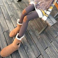 nz091-1 wholesale 7pcs Latest /knee pentagram patch/female casual boots high elastic cotton leggings pants/nine minutes of pants