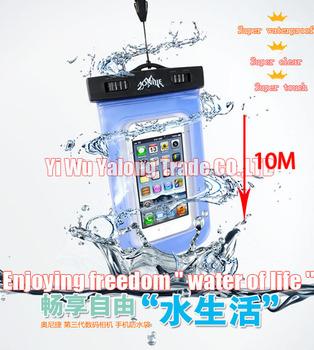 1pc  high quality PVC  waterproof bag  camera waterproof bag underwater dry bag  swimming phone bag17*10CM  free shipping