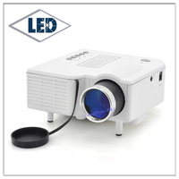 Mini pico led projector 48 ANSI Lumens with USB  VGA,AV ,SD Card slot ,USB  12 pieces /lot Free DHL