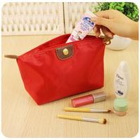 LZ bags free shipping Rabbit hearts waterproof large capacity cosmetic day clutch women's dumplings storage bag 17/22*12*8cm