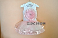 Free shipping wholesale 2013 summer toddle girl's cloth children cloth baby girl summer dress baby dresses tutu dresses