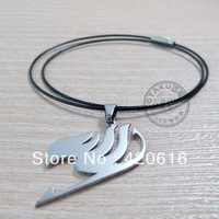 2013 Newest Fashion Japan Anime Cosplay Fairy Tail Emblem Guild Logo Pendant  Metel Necklace Free Shiping 10 pcs/ Lot