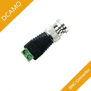 Coax CAT5 CCTV BNC Connector BNC Plug Crimp for CCTV Cable CAT5