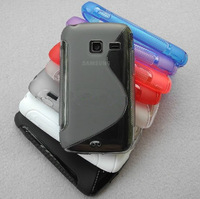 For SAMSUNG GALAXY Y DUOS GT-S6102 S Line Soft Cover Case (6 colors for your choice),Free Shipping