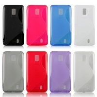 LU6200 Case,For LG Optimus LTE LU6200 P930 S Line Soft Cover Case (6 colors for your choice), Free Shipping