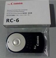 new RC6 RC-6 shutter release Remote Control For Canon Rebel XT XTi T1i T2i T3i 5D Mark II D051