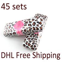 Love Alpha Waterproof Mascara 45 Sets 1 Transplanting Gel Plus 1 Natural Fiber Mascara Set Free Shipping DHL