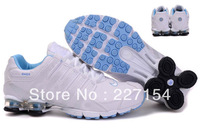 Cheap woMens Best Basketball Shoes white&light blue NZIII shox Athletic Shoes Factory Price