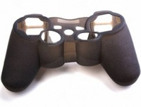 Protective Silicone Case Black for PS3 Controller  Free Ship