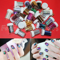 New 150 Rolls/lot 30 Mixed Designs Fashion Symphony Transfer Foil Nail Sticker Wholesales
