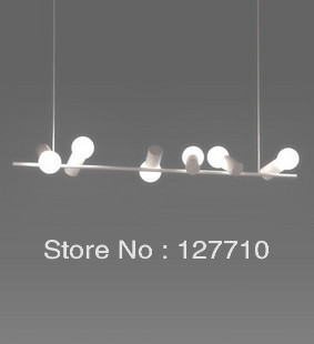 Free shipping 2013Creative restaurant in the Italian designer lamps modern minimalist living room lamp bedroom lamp birdie chand(China (Mainland))