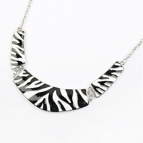 FASHION!!! Zebra necklace jewelry AAA Free shipping Necklace wholesale&retail N1077(China (Mainland))