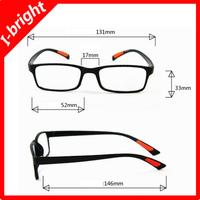 2013 I-bright Promotion Ultra- light TR90 reading glasses portable reading eyewear Anti-fatigue 100,150,200,250,300,350,400