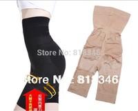 Drop Shipping Plus Size Beauty Body Shaper Panties  Slimming Pants Seamless waist training corsets High Waist Underwear 2pcs