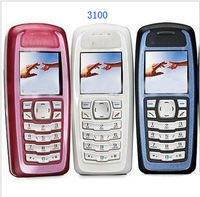 Original N&3100 unlocked GSM mobile phone support russian menu multi languages!free shipping