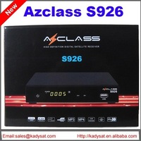 5pcs/lot azclass s926  full hd decoder with free sks iks wifi usb pvr nagra3 for  south america free shipping