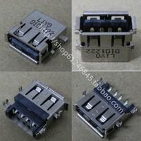 Free shipping new 5 pcsUSB interface / socket / plug / applicable Lenovo Lenovo laptop USB port Shen plate