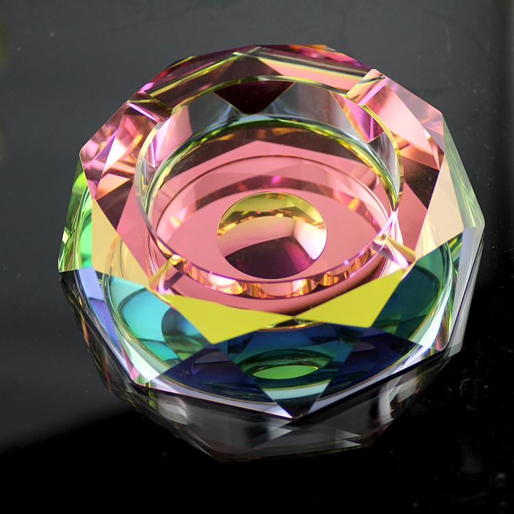 Grand cristal de qualit personnalit de la mode cendrier for Cendrier de jardin