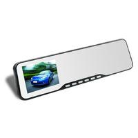 "Novatek chip 2.7"" LCD car mirror camera H.264 1080p car camera recorder Rearview Mirror DVR Video Dashboard Cam with G-sensor"