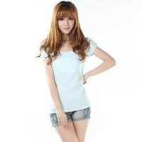 Free shipping!/2013 New Summer women Casual Puff sleeve T-shirt/Hot Sale!