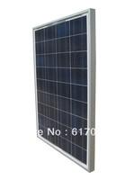 160w 2 x 80W polycrystalline solar pane 80w PV solar panel RV solar panel   free shipping