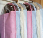 FREE SHIPPING wholesale hot sale careful Your colthe Transparent window colorful high quality visual non-woven suit dust cover