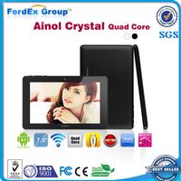 """Ainol NOVO7 Crystal Quad Core 7"""" Tablet PC android 4.1 Webcam 1GB RAM 8GB ROM WIFI HDMI"""