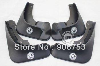 2012 Skoda Fabia Soft plastic Mud Flaps Splash Guard Mudguards