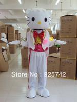 Mascot Costume Kt cat cartoon clothes performance wear cartoon clothes wedding supplies cartoon doll clothes Cartoon Costume