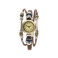 Multi-layer fashion personality punk vintage accessories bracelet watch