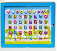 16PCS/Lot  Spanish  Y-Pad Learning Toys Music & Led Light Pink and Blue Mixed spain spanish language