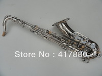 Factory direct sale  Professional French copy Selma tenor saxophone Henry reference 54 surface nickel plating