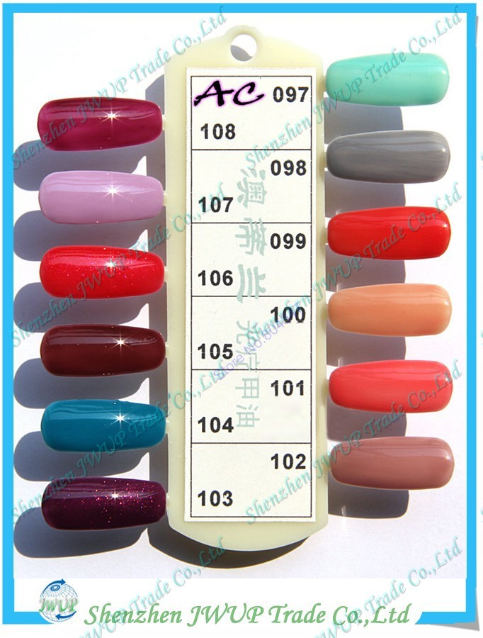 Most Popular Mix Color Nail Polish MSDS Salon Professional Nail