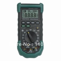 Free Shipping MASTECH MS8228 Autoranging 4000 Counts Digital Multimeter with Infrared Thermometer