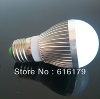 10PCS/lot led bulb lamp High brightness E27 E14 B22 5W 5730SMD Cold white/warm white AC220V 230V 240V Free shipping