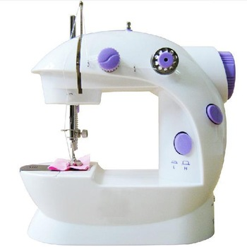 Electric mini multi-function household sewing machines