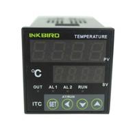 Sestos Dual Digital PID AC/DC 12-24V Temperature Controller SSR Relay Output D1S