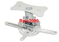 Universal Mini LCD LED DLP Projector 360 Degree Rotation Ceiling Mount Bracket 30lb White