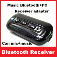 Free Shipping Bluetooth Music Receiver Bluetooth 3.0+Answer call 3.5mm Stereo Easy to get Bluetooth speaker Bluetooth headphone