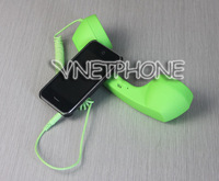 Retro Fashion--3.5mm Retro Phone Telephone Handset For iPhone / HTC / Samsung PC Portable Classic Headphone