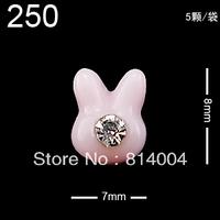24 MIXED STYLES Free Shipping Wholesale/Nail Supply, 200pcs DIY  star Nails Design/Nail Art, Unique Gift  #250