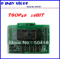 FREE SHIPPING HOT SALE!! 1pcx Willlem versatile programmer dedicated adapter TSOP48 16BIT
