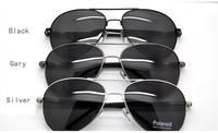 Sunglasses Polarized Men's Glasses For Aviator Police Driving Golf Sun Bath Cool