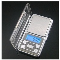 Factory price 500g x 0.1g Mini Electronic Digital Jewelry weigh Scale Balance Pocket Gram LCD Display With Retail Box
