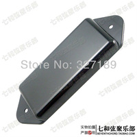 Free Shipping 10 Pcs single-coil pickup covers with no holes /guitar pickup covers - black